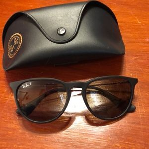 Ray Ban Erika Polarized Sunglasses EUC